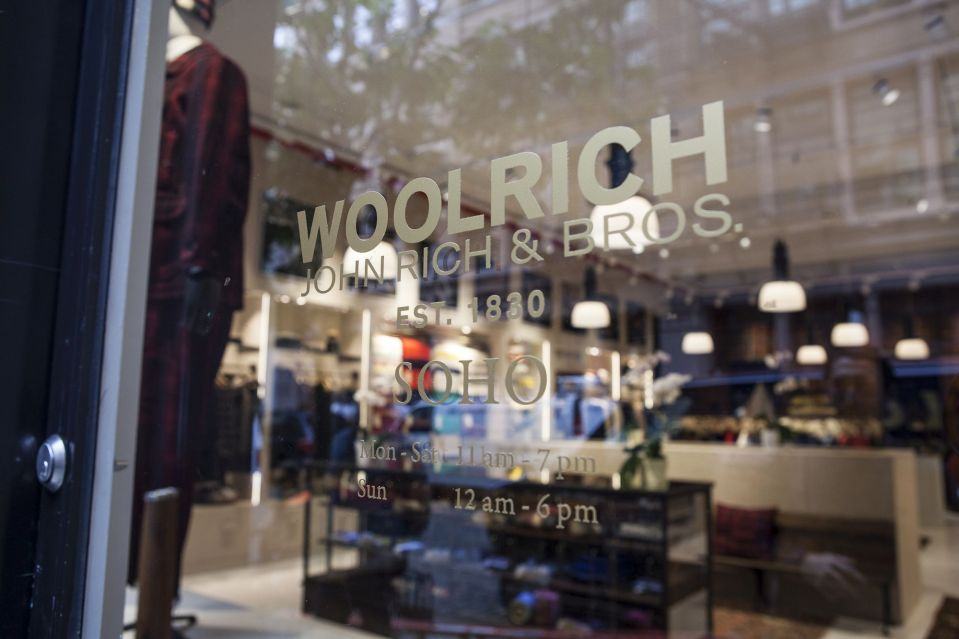 Woolrich Store Soho_Front-2